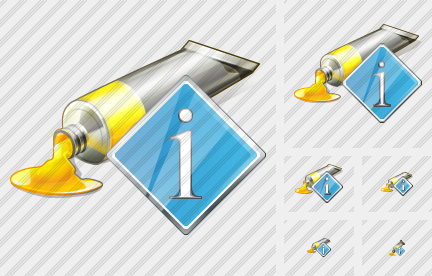 Icone Tube Paint Info
