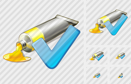 Icone Tube Paint OK