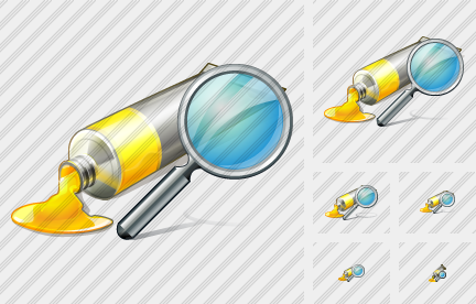 Icone Tube Paint Search