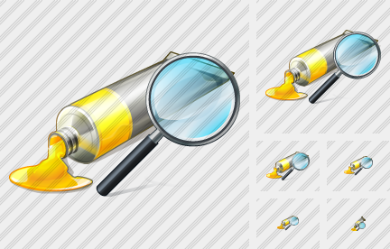 Icone Tube Paint Search2