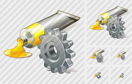 Icone Tube Paint Settings