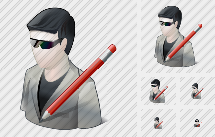 Icone User Sun Glasses Edit