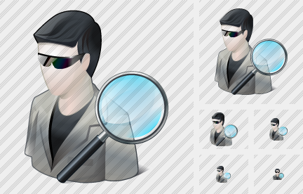 Icone User Sun Glasses Search2