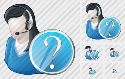 User Support Question Icon