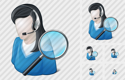 User Support Search 2 Icon