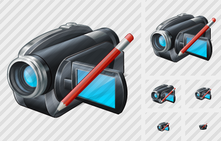 Video Camera Edit Icon
