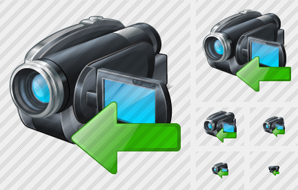 Video Camera Import Icon