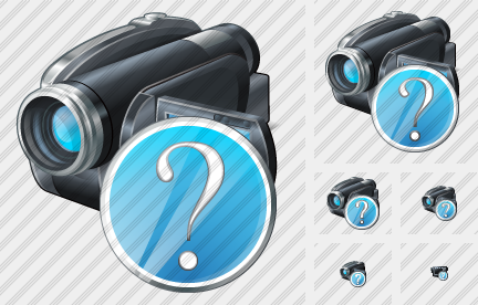 Video Camera Question Icon