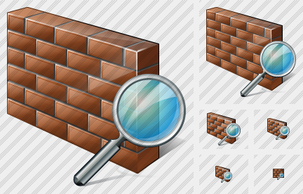 Wall Search Icon