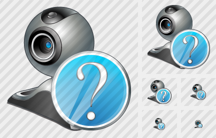 Web Camera Question Icon
