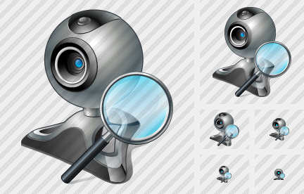 Web Camera Search 2 Icon