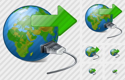 Web Connection Export Icon