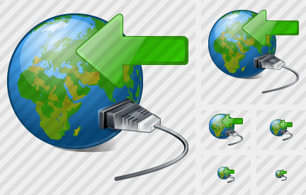 Web Connection Import Icon