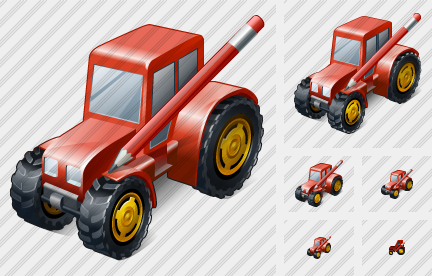 Icone Wheeled Tractor Edit
