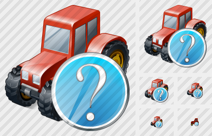 Wheeled Tractor Question Icon