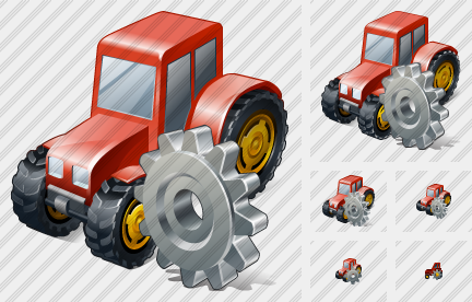 Wheeled Tractor Settings Icon