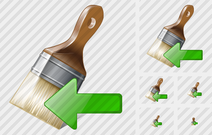Wide Brush Import Icon