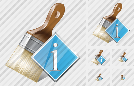 Wide Brush Info Icon