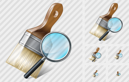 Wide Brush Search 2 Icon