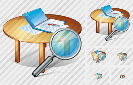 Work Table Search Icon