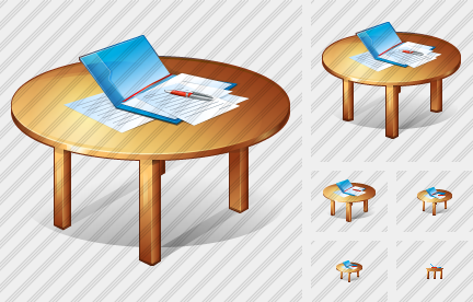 Table Icon Generator Work Table Icon
