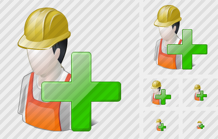 Worker Add Icon