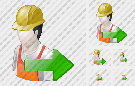Worker Export Icon