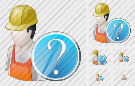 Worker Question Icon