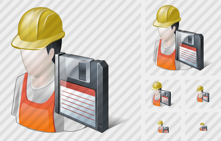 Worker Save Icon