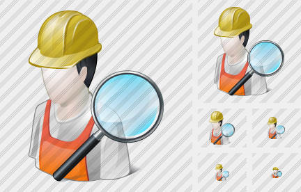 Worker Search 2 Icon
