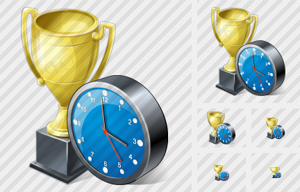 World Cup Clock Icon
