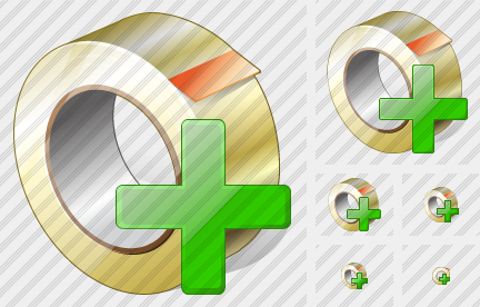 Adhesive Tape Add Icon
