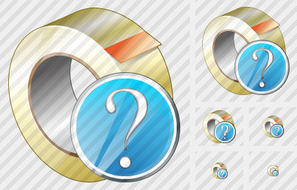 Adhesive Tape Question Icon