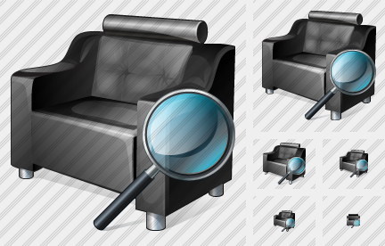 Armchair Search 2 Icon