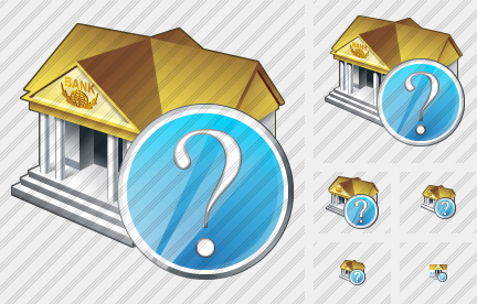 Bank Question Icon