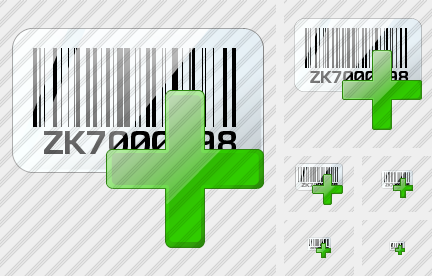 Bar Code Add Icon