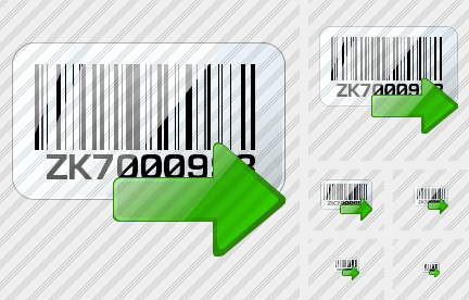 Icone Bar Code Export