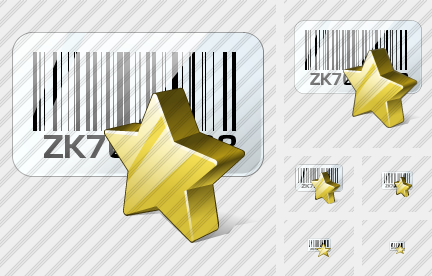 Bar Code Favorite Icon