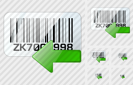 Bar Code Import Icon