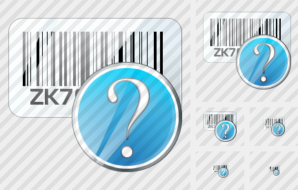 Bar Code Question Icon
