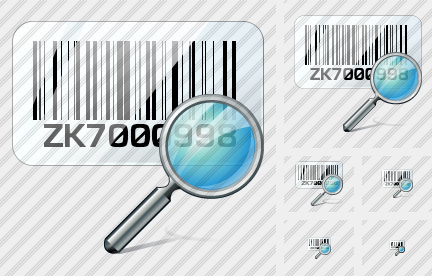 Icone Bar Code Search