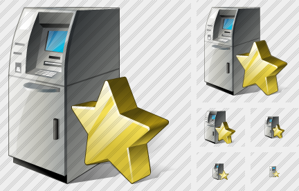 Cash Dispense Favorite Icon