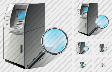 Cash Dispense Search 2 Icon