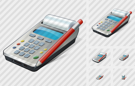 Cash Register Edit Icon