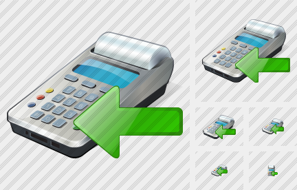 Cash Register Import Icon