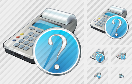 Cash Register Question Icon