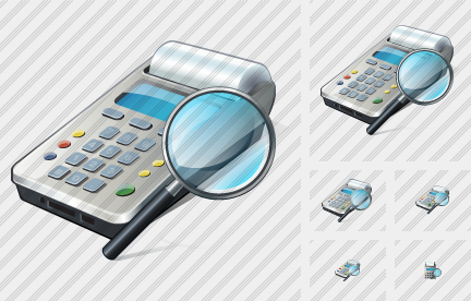 Cash Register Search 2 Icon