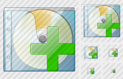 CD Box Add Icon