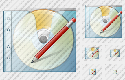 CD Box Edit Icon