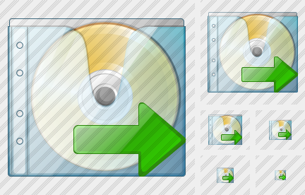 CD Box Export Icon